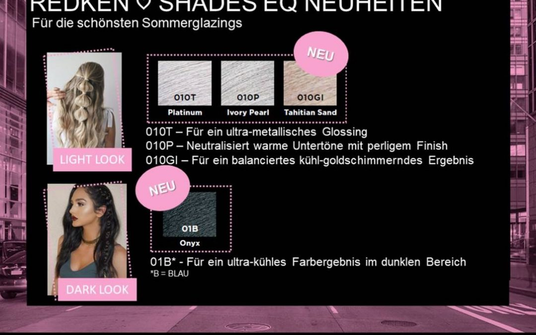 Sommerglazings von Shades EQ